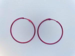 Colour Hoop Earring