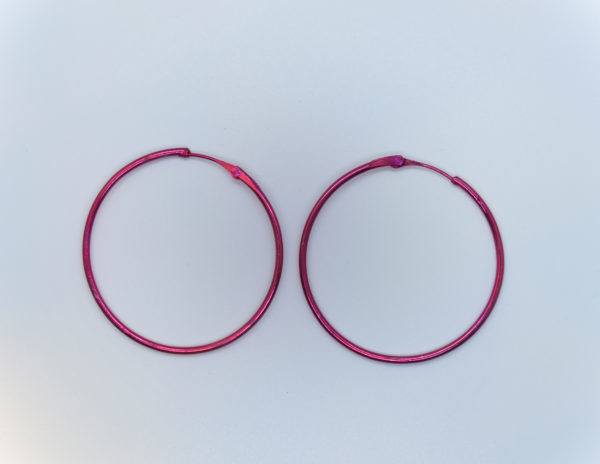 Colour Hoop Earring