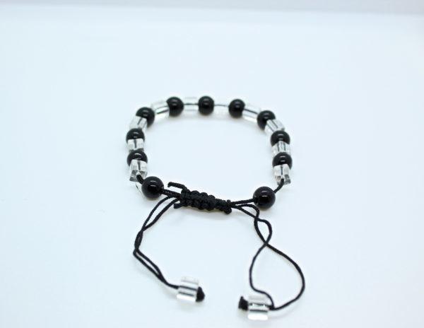 Black Beads Bracelet