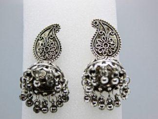 Silver Tassel Earring