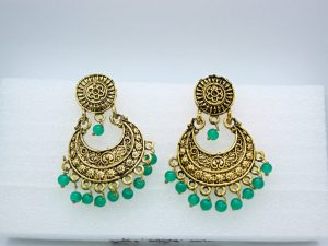 Beads Tassel Drop Earring