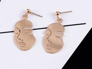 Face Drop Earring
