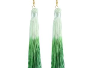 Double Colour Tassel Drop