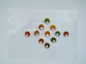 Small Colour Bindis