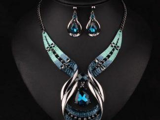 Blue Crystal Jewellery