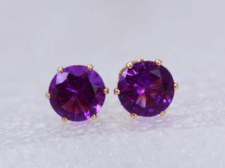 Crown Stud Earring