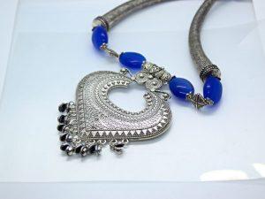 Blue Beads Pendant