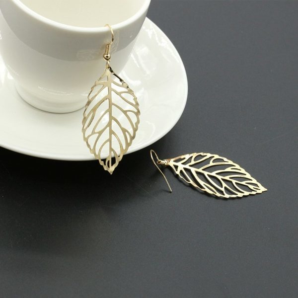 Leaves Drop Earring