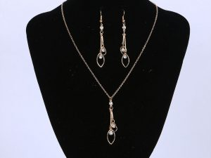 Leave Jewellery Set